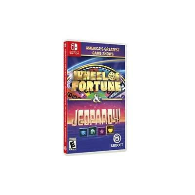 NEW Wheel Fortune Jeopardy Switch Ubisoft UBP10902190