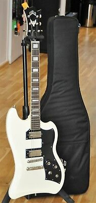GUILD T-BIRD ST GUITAR VINTAGE WHITE w/ GIG BAG - Made in Korea - Free Shipping!