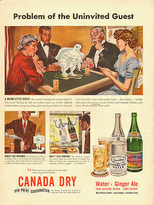 1942 Vintage ad for Canada Dry/Art/ (071613)