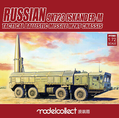 MODELCOLLECT PP72002 Russian 9K723 Iskander-M MZKT Chassis in 1:72