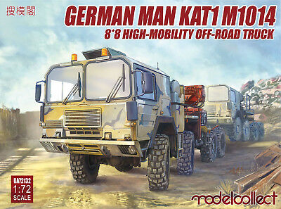 MODELCOLLECT UA72132 MAN KAT1 M1014 8x8 High-Mobility Off-Road Truck in 1:72