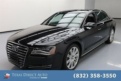 2014 Audi A8 3.0L TDI quattro Texas Direct Auto 2014 3.0L TDI quattro Used Turbo 3L V6 24V Automatic AWD Sedan
