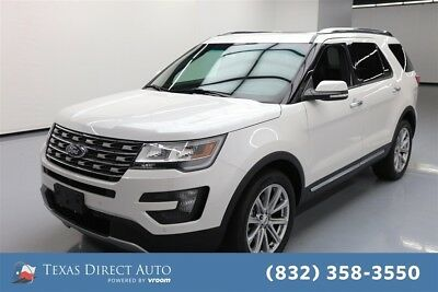 2016 Ford Explorer Limited Texas Direct Auto 2016 Limited Used 3.5L V6 24V Automatic 4WD SUV Moonroof