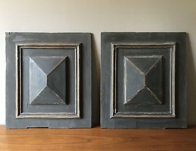 PAIR OF EARLY 20th CENTURY FRENCH DOOR PANELS