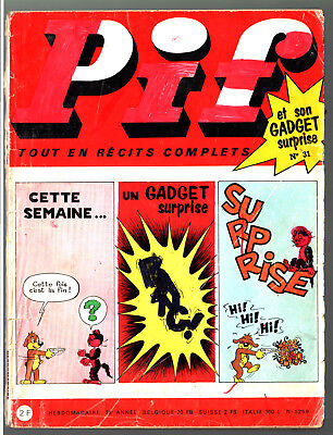 -°- PIF GADGET n°31 -°- 09/1969 -°- JACQUES FLASH / TEDDY TED