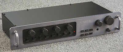 CARVER C-1 Sonic Holography Preamplifier with MM/MC Phono SUPERB!