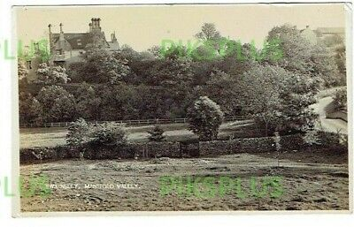 Old Postcard Swainsley Manifold Valley Staffordshire G Hill Real Photo Used 1911