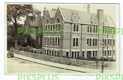 Old Postcard Cottage Hospital Leek Staffordshire G. Hill Real Photo Used 1911