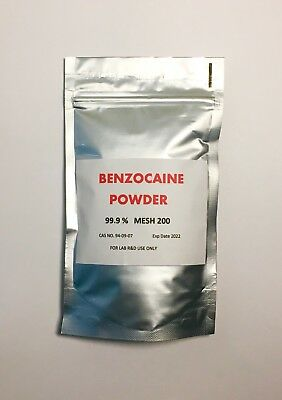 Benzocaine POWDER _ 500 g Fast & Free Delivery by Royal Mail First Class
