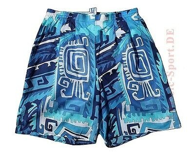So-57) orig. ADIDAS Hawaii Beach Shorts Herren Gr.6=M / neu