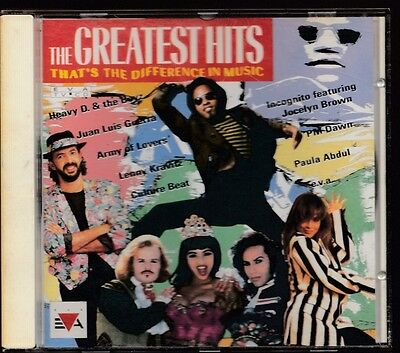 THE GREATEST HITS 1991-3 EVA CD Army Of Lovers Bomb The Bass Scorpions Level 42