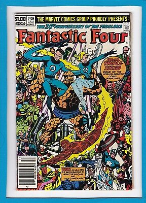 Fantastic Four #236_November 1981_Very Fine_Triple-Sized Issue_Bronze Age!