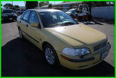 2001 Volvo S40 A 2001 Volvo S40A 1.9Turbo 113K Low Miles Automatic 4 Cylinder NO RESERVE