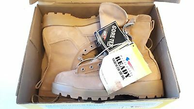 Belleville 775 ST Waterproof Steel Toe Military Boots Made in US SIZE 8W