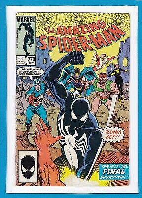 "Amazing Spider-Man #270_November 1985_Fine+_""final Showdown With Firelord""!"