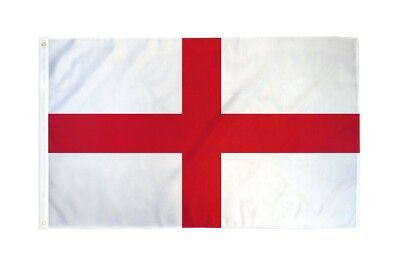 3x5 England St George Cross Flag English Banner Pennant New Indoor Outdoor