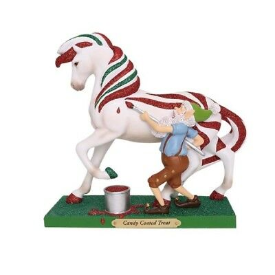 Trail of Painted Ponies Candy Coated Treat Pony Horse Christmas Figurine 6001106