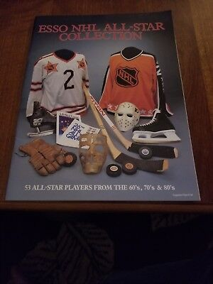 1988-89 Esso Canadian NHL 53  All Star collection hockey cards with Album