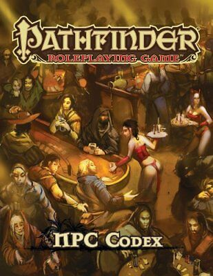 NEW - Pathfinder Roleplaying Game: NPC Codex by Bulmahn, Jason