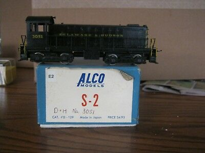 Alco Models Brass S-2 Locomotive - D&H Delaware and Hudson No. 3051 - HO Scale