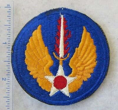 WW2 Era Vintage US ARMY AIR FORCE EUROPE Shoulder PATCH Cut Edge ORIGINAL USAAF