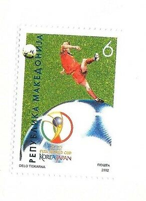 MACEDONIA Sc 244 NH issue of 2002 - Soccer World Cup