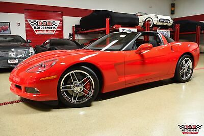 2010 Corvette Coupe Torch Red Corvette Coupe with 12818 Miles & 6-Speed Manual Trans