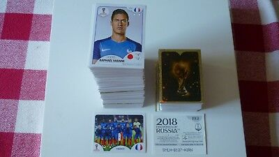 30 Vignettes Stickers Panini Foot World Cup Russia 2018 Au Choix