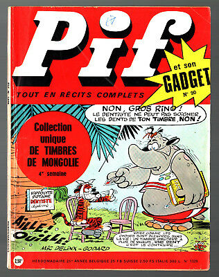 -°- PIF GADGET n°90 -°- 11/1970 -°- DOC JUSTICE / TEDDY TED