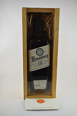 Bundaberg Rum 18 Year Old Rum Rare Boxed No 1218 Bottle Mint Condition