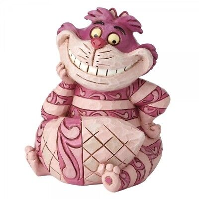 Disney Traditions Cheshire Cat Mini Figurine 4056745 New & Boxed Fast & Free P&P