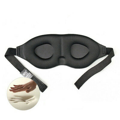 Travel Sleep Eye Mask 3D Memory Foam Padded Shade Cover Sleeping Blindfold