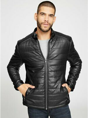 G By Guess Men S Penfield Faux Leather Jacket 49 00 Picclick