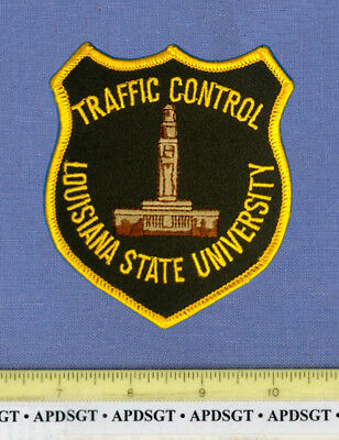 LOUISIANA STATE UNIVERSITY TRAFFIC CONTROL College School Campus Police Patch