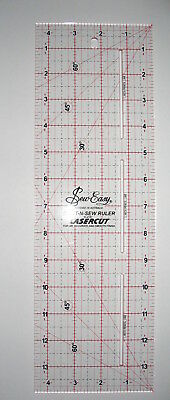 Sew Easy Patchwork & Quilting ruler Laser Cut Great Quality