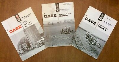 Case Tractor Sales Pamphlets