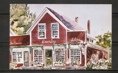 USA. Shelburne Country Store, Shelburne, Vermont. Not posted postcard