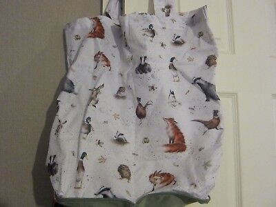 Royal Worcester Wrendale Foldaway Shopper Bag - New