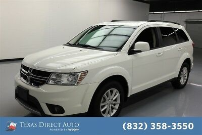 2017 Dodge Journey SXT Texas Direct Auto 2017 SXT Used 3.6L V6 24V Automatic AWD SUV Premium