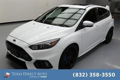 2016 Ford Focus RS Texas Direct Auto 2016 RS Used Turbo 2.3L I4 16V Manual AWD Hatchback Premium