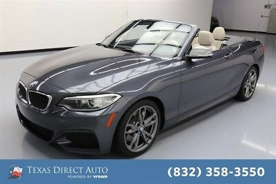2015 BMW M Roadster & Coupe M235i Texas Direct Auto 2015 M235i Used Turbo 3L I6 24V Automatic RWD Convertible