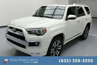 2018 Toyota 4Runner 4WD Limited 4dr SUV Texas Direct Auto 2018 4WD Limited 4dr SUV Used 4L V6 24V Automatic 4WD SUV