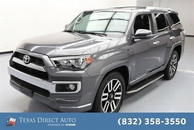2015 Toyota 4Runner 4x2 Limited 4dr SUV Texas Direct Auto 2015 4x2 Limited 4dr SUV Used 4L V6 24V Automatic RWD SUV