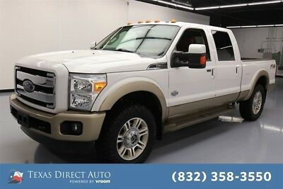 2013 Ford F-250 King Ranch 4dr Crew Cab 4WD Texas Direct Auto 2013 King Ranch 4dr Crew Cab 4WD Used Turbo 6.7L V8 32V 4WD