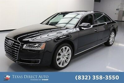 2015 Audi A8 3.0T quattro Texas Direct Auto 2015 3.0T quattro Used 3L V6 24V Automatic AWD Sedan Moonroof