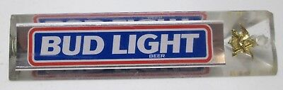 Vintage Bud Light Tap Beer Handle Tapper Barware Advertising Tavern Bar