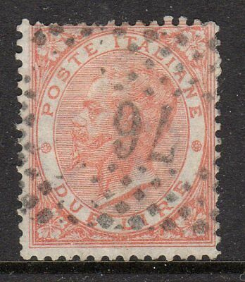 Italy 1863 2l fine used