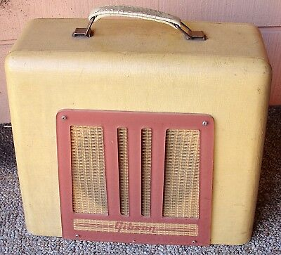 1950s GIBSON BR-9 tube amp excellent working condition
