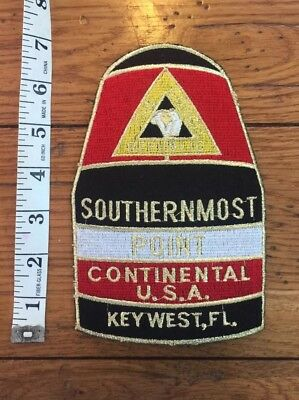 Large Southernmost Point Key West Patch Buoy Conch Republic Brand New (29)