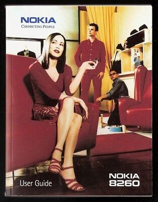 2000 NOKIA 8260 Cell Phone Manuals, User Guides